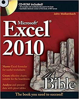Buy excel 2010 bible book online at low prices in india excel 2010 buy excel 2010 bible book online at low prices in india excel 2010 bible reviews ratings amazon fandeluxe Image collections