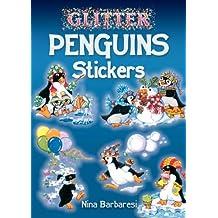 Glitter Penguins Stickers