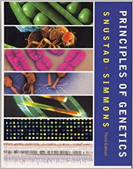 Snustad And Simmons Principles Of Genetics Pdf