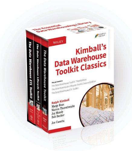 Kimball's Data Warehouse Toolkit Classics, 3 Volume Set