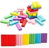 Vidatoy Beech Wooden Toys Colored 48 pcs