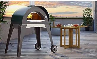 Alfa Horno de Leña para exterior (acero Pizza Ciao S gris plata ...