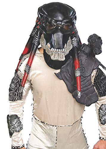 Rubie's Costume Co Black Predator Ovhd Latex Costume Costume