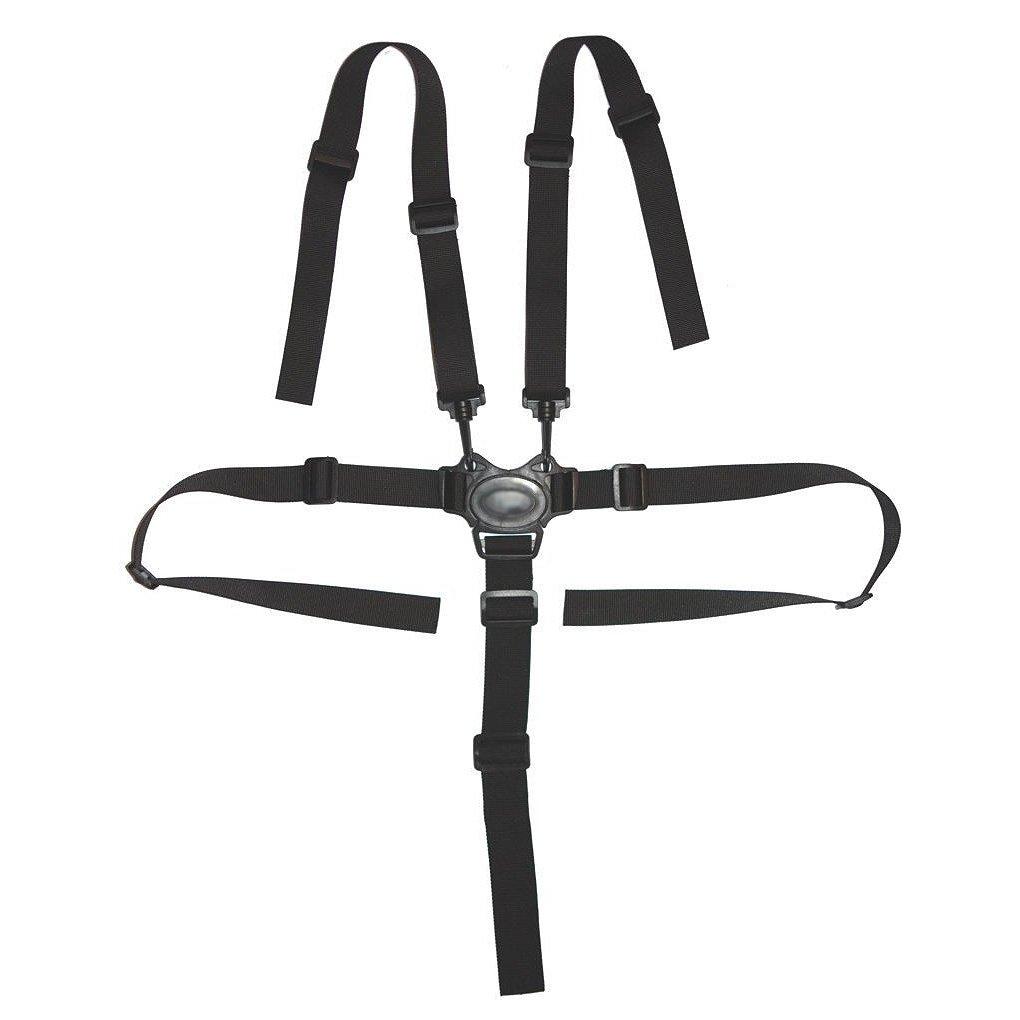 Mengonee Universales 5 Cinturones de Seguridad Punto de arnés de seguridad del bebé de los niños del asiento del cochecito protección segura Trona Cochecito Cinturón