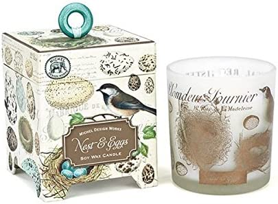 """/""""Toujours Paris/"""" 6.5oz Soy Wax Scented Candle /& Matches Michel Design Works NEW"""