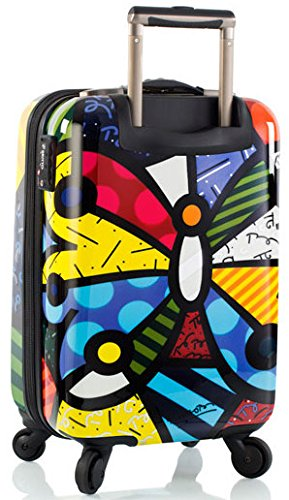 Heys America Multi -Britto Butterfly 21-Inch Carry-on Spinner Luggage by HEYS AMERICA (Image #2)