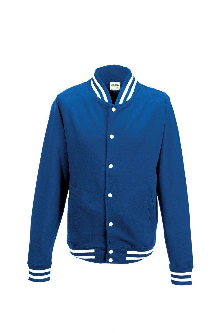 AWDis Men's College Jacket Royal M by Awdis