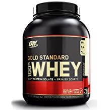 Optimum Nutrition Proteína Gold Standard, Sabor Chocolate Blanco, 5 Lb