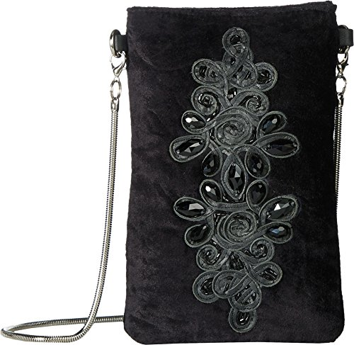 Steve Madden Women's Bdina Phone Pouch Black One Size