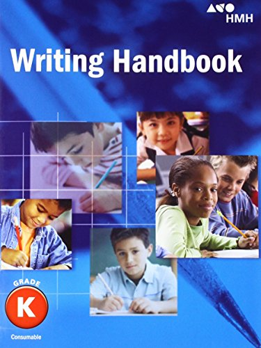 Journeys: Writing Handbook Student Edition Grade K -  HOUGHTON MIFFLIN HARCOURT, Paperback