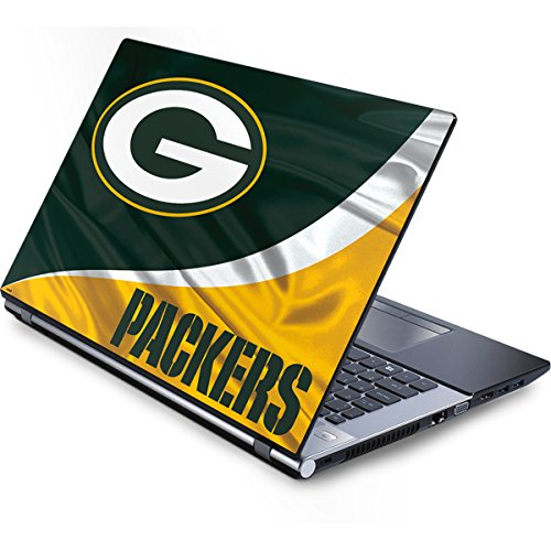 Skinit NFL Green Bay Packers Generic 12in Laptop (10.6in X 8.3in) Skin - Green Bay Packers Design - Ultra Thin, Lightweight Vinyl Decal Protection (Generic Bay Green Packers Laptop)