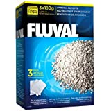 Fluval Ammonia Remover, Chemical Filter Media for Freshwater Aquariums, 180-gram Nylon Bags, 3-Pack, A1480