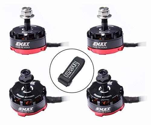 Emax 4pc RS2205 2600KV Brushless Motor 2CW 2CCW for QAV250 QAV300 FPV Racing Quadcopter