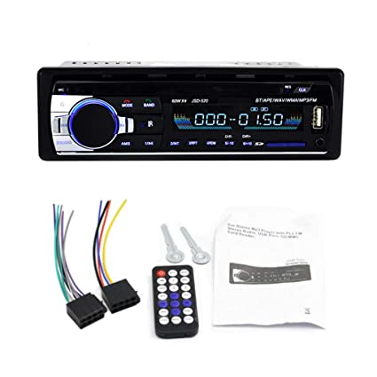 amazon com forgun bluetooth jsd 520 autoradio 12v car radio carimage unavailable image not available for color forgun bluetooth jsd 520 autoradio 12v car radio car stereo player phone
