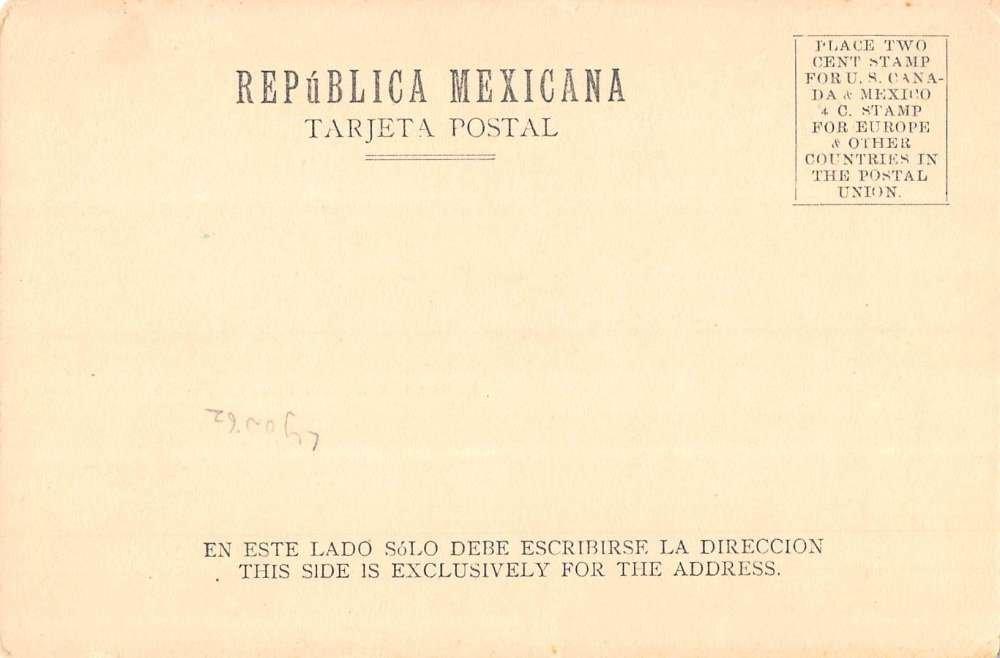 Ciudad Juarez Mexico Scenic Multiview River Antique Postcard ...