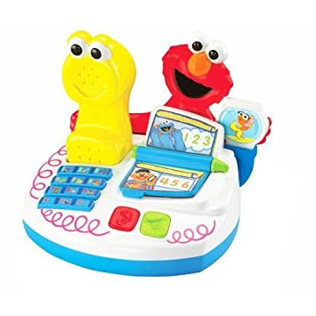 Fisher Price Elmo S World Record N Play Phone Center