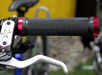 ... doble cerradura en agarres de aluminio, agarre de mano para bicicleta Cruiser Tricycle Wheel Scooter Mountain Road Urban plegable bicicleta ...