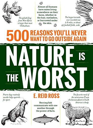 Nature Trivia - Nature is the Worst: 500 reasons you'll never want to go outside again