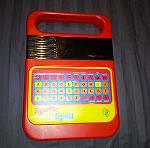 Amazon.com: Speak & Spell Texas Instruments Ti Classic