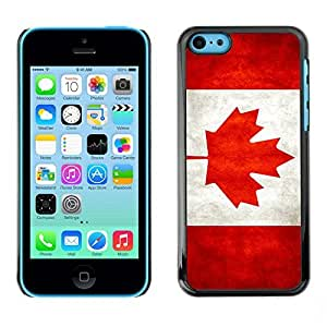 diy phone caseYOYO Slim PC / Aluminium Case Cover Armor Shell Portection //Canada Grunge Flag //Apple Iphone 5Cdiy phone case