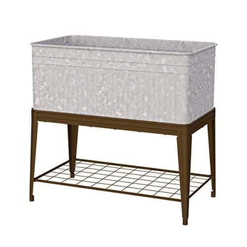 Panacea 83479  Vintage Raised Garden Bed Planter on Stand ()