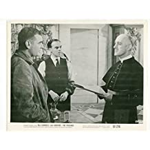 MOVIE PHOTO: THE PRISIONER-8X10-PROMO STILL-ALEC GUINNESS-JACK HAWKINS-DRAMA-1955