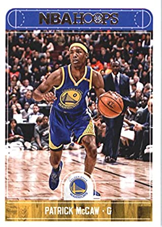 d1b9b74d8a3 2017-18 NBA Hoops  241 Patrick McCaw Golden State Warriors Official  Basketball Card made