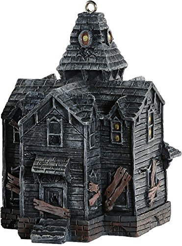 HorrorNaments Haunted House Halloween Christmas Tree Ornament Decoration (Halloween Haunted House Themes)