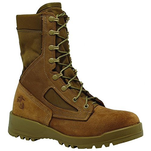 steel toe army boots - 6