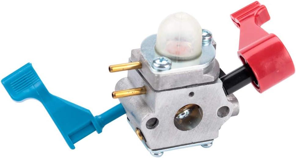 Carburetor for Husqvarna FB25 Gas Leaf Blower Poulan Weedeater Poulan FL1500 FL1500LE Zama C1U-W46 Carb Engine Gasket Parts Kit