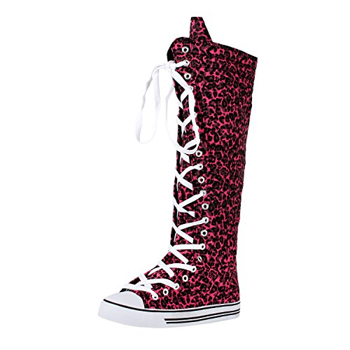West  (Lace Up Pink Boots)