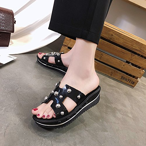 Flat Slippers Women'S Stylish Comfortable Font Summer Wild Pink And Of Casual And Feet Sandals Sets slippers WHLShoes women pwqfvf