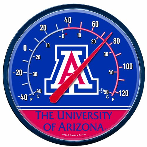 NCAA Arizona Wildcats Thermometer