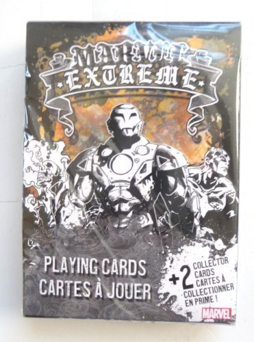 Marvel Extreme Playing Cards by US Playing Card Company by Bicycle