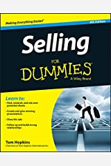Selling For Dummies Paperback
