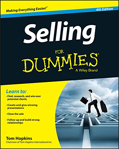 Selling for Dummies (4th 2015) [Hopkins]