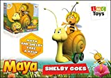 Gurney Snail with bee Maya on wheels toy gift baby child party Yellow birthday the Famous Cartoon, ToyGift, Girl