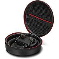 QC 30 Wireless Headphone Charging Case, Antank Protective In-Ear Earphone Bluetooth Headset Carring Cases with Built-in Power Bank Travel Storage Bag for Bose QuietControl 30 Wireless Headphones