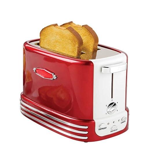 Máquina 2 Slice Toaster Inicio automático Tostadora Máquina para ...
