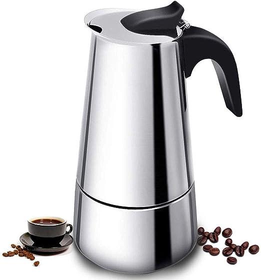 WYING Moka Pot Espresso Pot Stovetop Espresso Maker Cafetera de ...