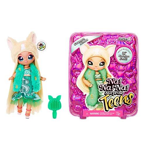 Na! Na! Na! Surprise moda CARMEN LINDA-Muñeca grande y suave para coleccionar con ropa y accesorios de lujo-Teens Serie…