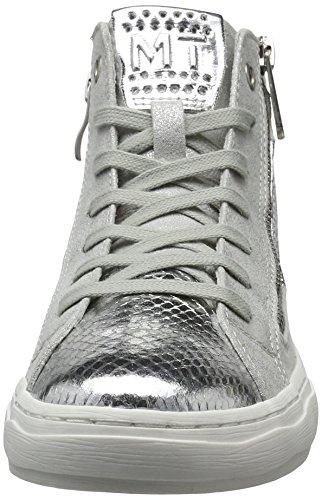 Marco Tozzi Women's 25202 Hi-Top Sneakers Grey (Lt.grey Comb 248) n51mzfv4fO