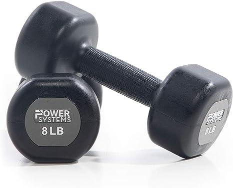 Power Systems - Juego de mancuernas con revestimiento de uretano ...