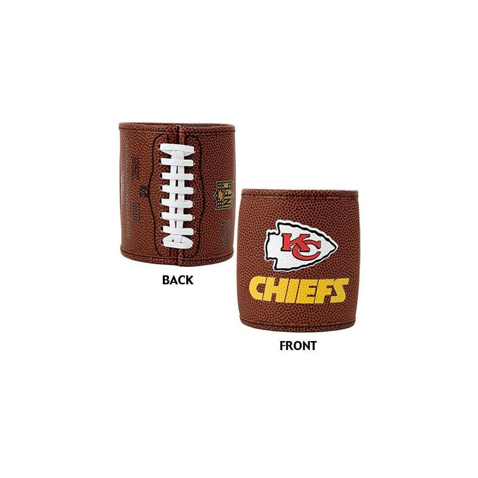 Kansas City Chiefs NFL 2pc Football Can Holder Set
