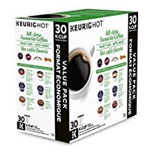 Keurig All-Time Favorite Coffees Variety Box K-Cup Pod, 30 Count
