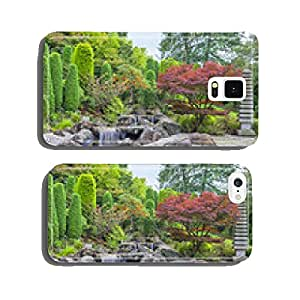 Cascade waterfall in Japanese garden in Bonn cell phone cover case iPhone6 Plus