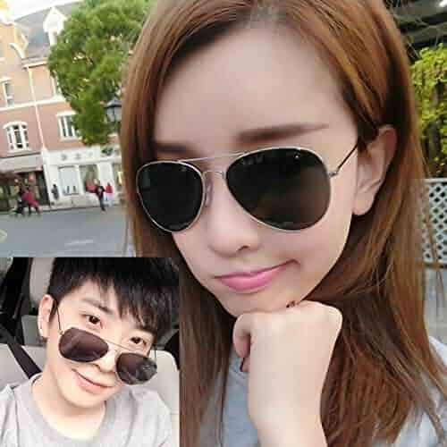 fa58dd63e1 KUDTJO 2018 Miss han guo Round face Sunglasses Tide Sunglasses Men Tide  Personality Payee (Silver