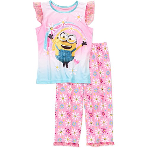 Despicable Me Minions Big Girls Have A Nice Day 2 Piece Sleepwear Pajamas (Medium - Outfit Me Despicable