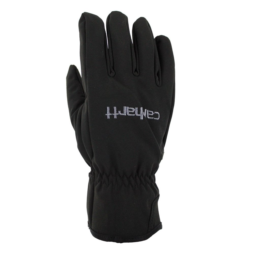 Carhartt Men's C-Grip Softshell High Dexterity Vibration Reducing Glove, Black, Small/Medium