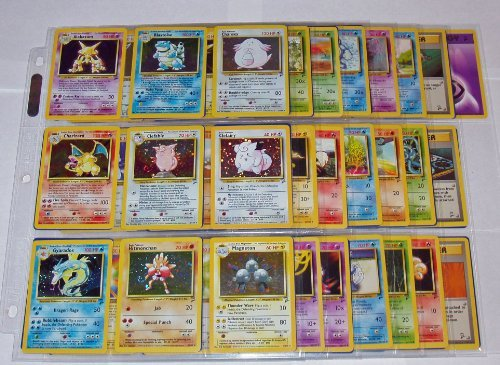 Pokemon COMPLETE BASE 2 SET 130/130 Cards Holos Rares
